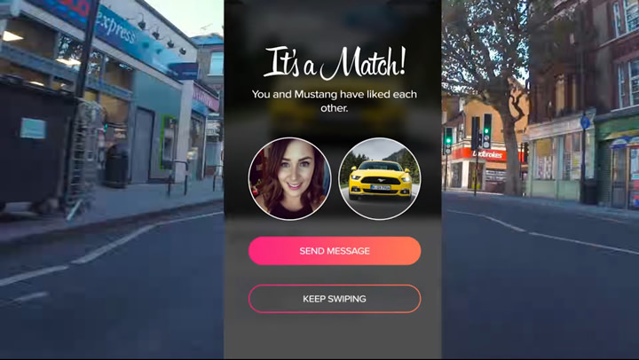 Tinder and Ford Dating Promo