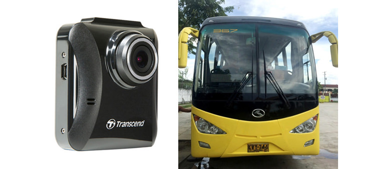 Yanson Group of Bus Companies Integrates Transcend DrivePro 100 Dashcams to Improve the Safety of Bus Passengers and Drivers