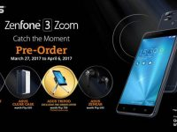 You can now pre-order the ASUS ZenFone 3 Zoom from March 27 to April 6, 2017