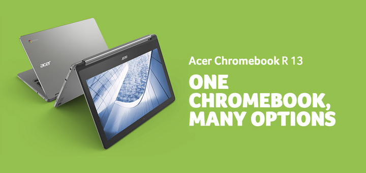 Acer Chromebook R 13 Tops CNET's 'Top 25 Battery Life Laptops and 2-in-1 Hybrids' List