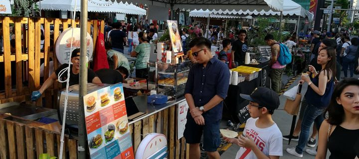 Bonifacio Global City's Summer on the Street festivities include everything from  pets and food to fitness and prayer