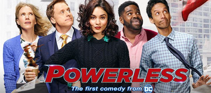 WBTV's latest DC series Powerless now  on HOOQ same day as U.S. telecast