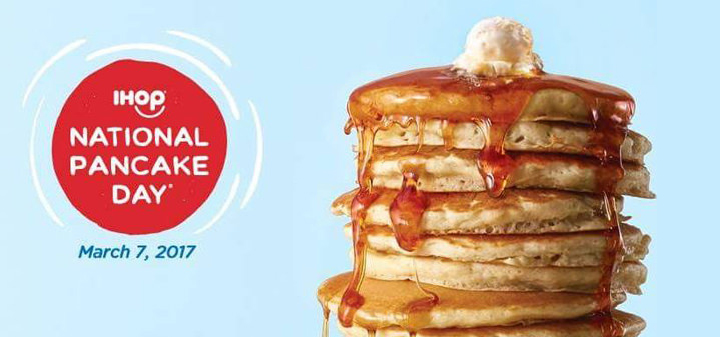 IHOP National Pancake Day on March 7: Eat-All-You-Can Buttermilk Pancakes for only P250, Proceeds Go to Kythe Foundation