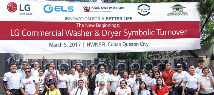 Innovation for a Better Life: House with No Steps Foundation unveils new Laundry Livelihood Project