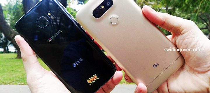 Camera Shoot Out: the LG G5 vs the Samsung Galaxy S7 edge