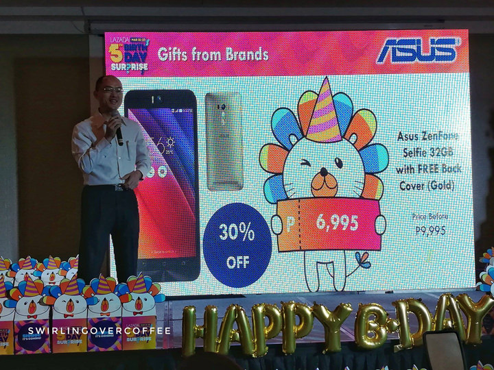 Lazada 5th Birthday Surprise