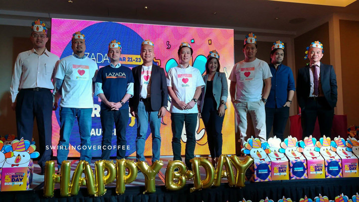 Mark your calendars and prep you wallets for Lazada's 5th Birthday Surprise from March 21 to 23