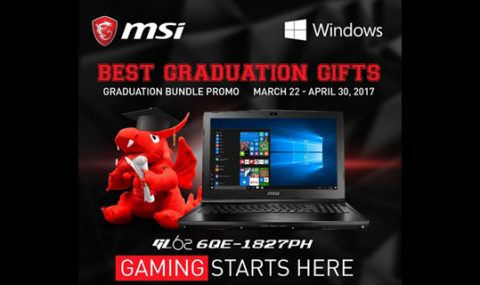 MSI Philippines Notebook Announces Graduation Promotion