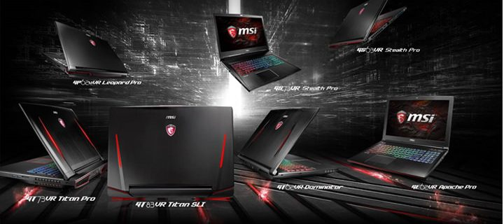 MSI Wins the Second Straight Award of Best Windows Laptop of PCMag Readers' Choice in 2017