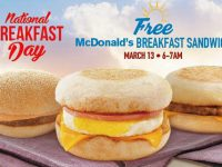 McDonald's 5th National Breakfast Day treats customers to a free McDo Breakfast Sandwich