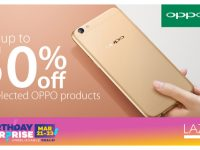 Enjoy discounts on the OPPO F1, F1 Plus, Joy 3, and A39 on Lazada's 5th Anniversary