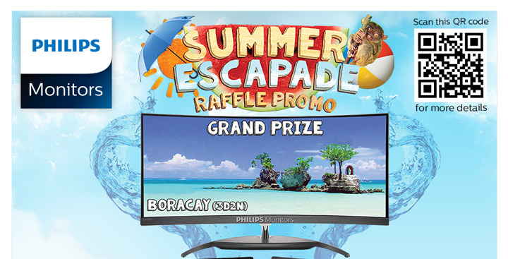 "Philips Monitors Launches the ""Summer Escapade"" Raffle Promo"