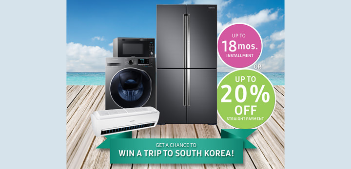 "Want to Win a Trip to South Korea? Avail of Samsung's ""FlexiDeals Summer Getaway"" promo"