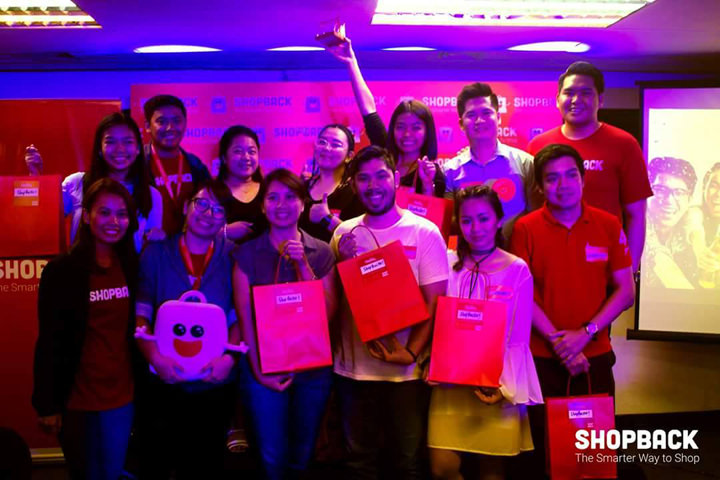 ShopBackers during the first ShopBack PH meet up on March 14 at the ShopBack PH HQ in Makati.