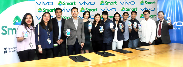 Smart and Vivo forge partnership to offer Filipinos a better mobile experience.