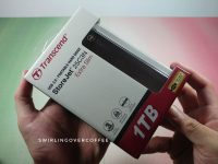 Transcend StoreJet 25C3N USB 3.0 Extra Slim Portable Hard Drive Unboxing and First Thoughts