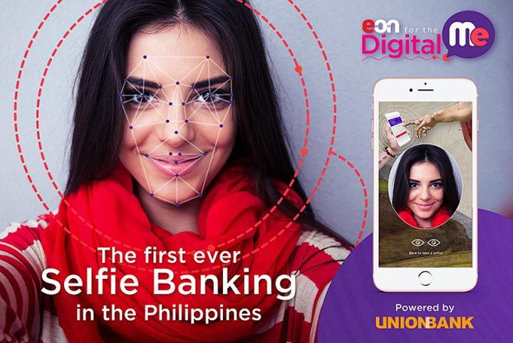 Selfie Banking, UnionBank, EON