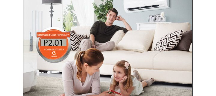 A cool and comfy summer for the family with LG's Split Type AC