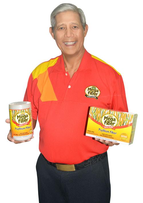 Megafiber Food Supplement, Albert MG Garcia