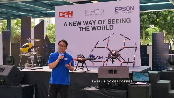 Epson, Moverio, Drone