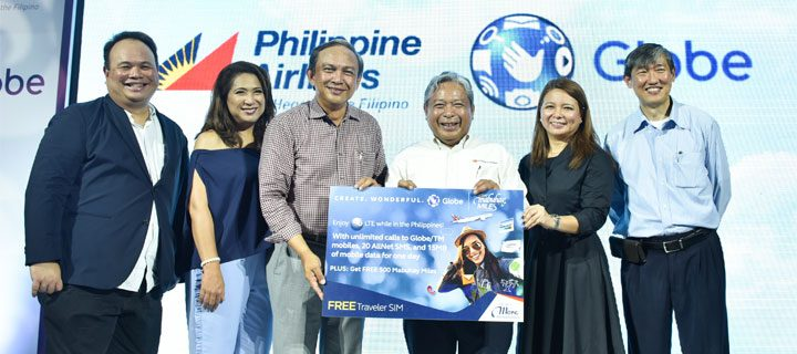 Globe, PAL partnership to benefit OFWs and PH Tourism