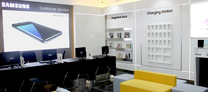 Samsung ends first quarter of the year with 4 new service centers