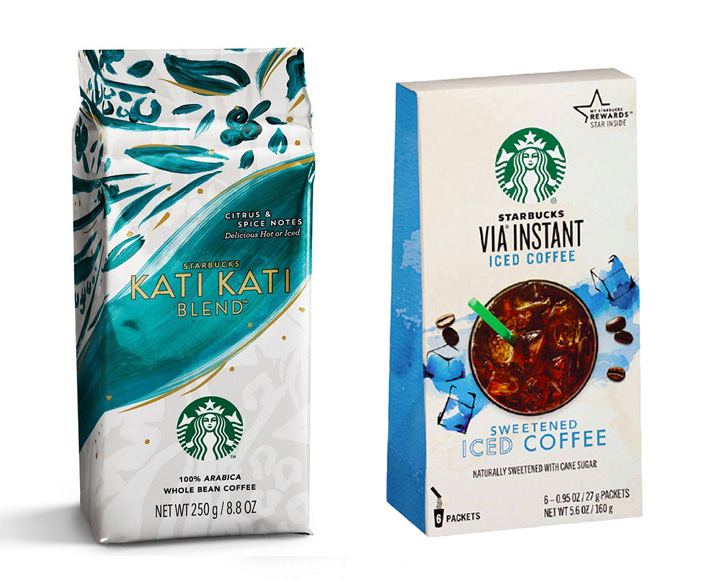 Starbucks Kati Kati Blend and VIA Iced Coffee