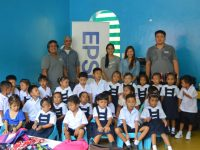 Epson provides technical training for Lantern Vision Learning Center under Family Life Missions for Gift of Brightness donation
