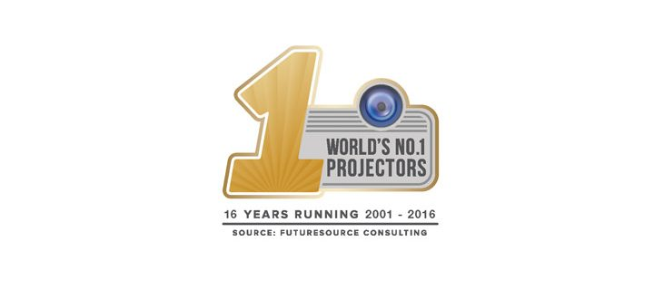 Epson named world's number one projector brand for 16 consecutive years