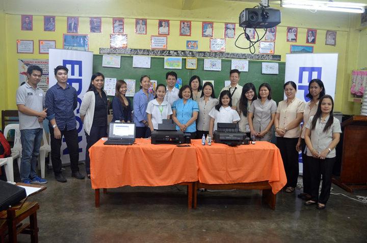 Epson provides technical training to Gift of Brightness beneficiary San Jose Elementary School-PagibigsaNayon Annex