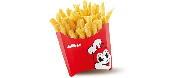 Round up the squad for Jollibee's Jolly Crispy Flavored Fries in Garlic and Cheese!