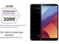 Get the drop-friendly and water-resistant LG G6 on Globe Plan 1499