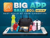 Sale Alert: Shop on the Lazada Mobile App from May 23 to 28