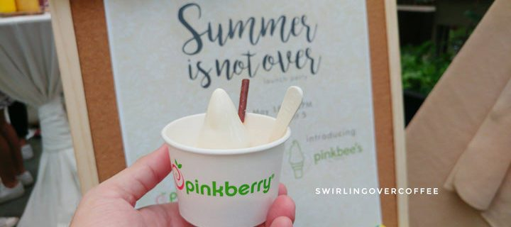 Pinkbee is Pinkberry's own delicious take on the soft-served ice cream