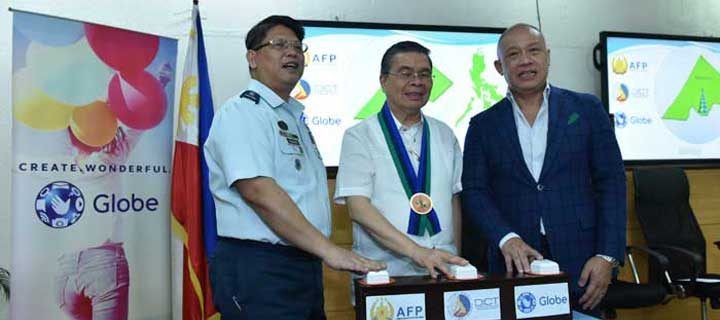 AFP, DICT, Globe provide free mobile services in Marawi City