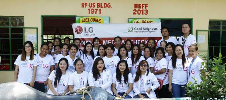 LG Caravan partners with Good Neighbors International Philippines to make life good for children of Hagonoy, Bulacan