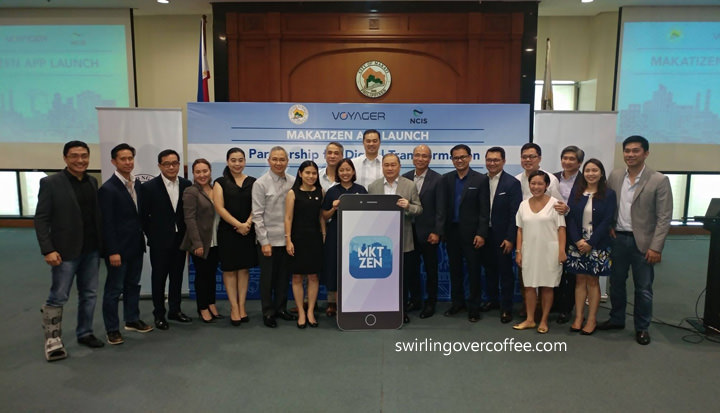 MAKATIZEN App aims to bring vital info, civic services, online shopping, and entrepreneural know-how to Makati residents