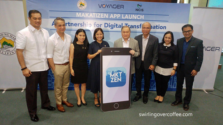 MAKATIZEN App, Voyager Innovations, Makati Mayor Abigail Binay