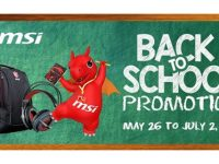 Back To School, Back to the Battlefield – MSI Announces Back to School Promo