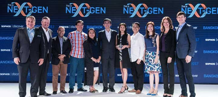 Microgenesis Business System Awarded Sophos Partner of the Year for ASEAN at 2017 APJ Partner Conference