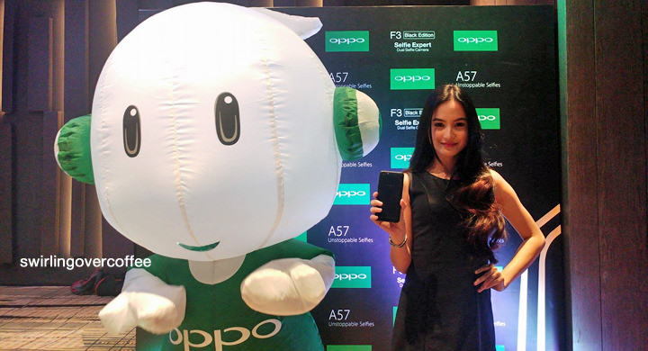 The OPPO F3 Black Edition available for P15990 starting June 16
