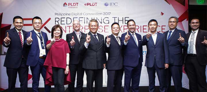 PLDT with ePLDT, IDC presents 21st century digital enablement for the PH market at the 2017 Philippine Digital Convention