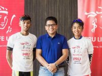 Pru Life UK sends off top Filipino cyclists Salamat and Oconer to 2017 SEA Games