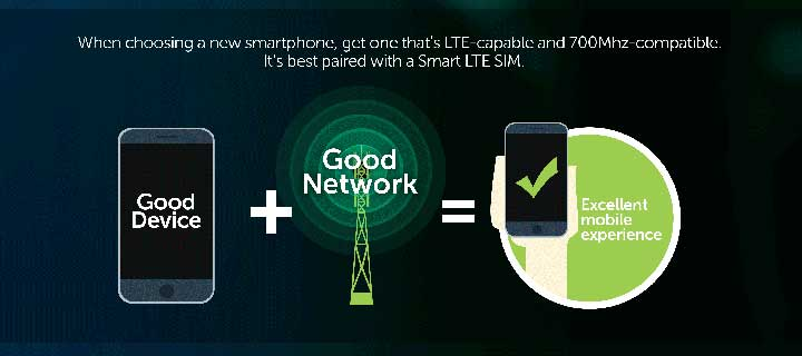 Level up to LTE and enjoy a seamless mobile experience