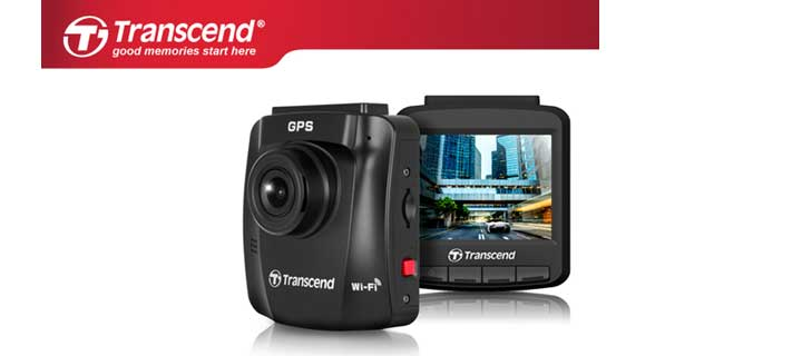 Transcend's Sleek DrivePro 230 Dashcam Offers Safety and Style