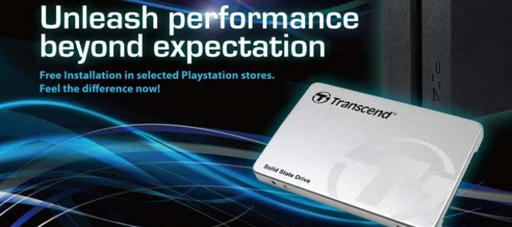 Unleash Performance of your Playstation 4 with a Transcend SSD and Free Installation Support