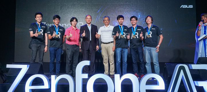 ASUS ZenFone AR hackathon winning team developed VR app for on-the-go medical personnel