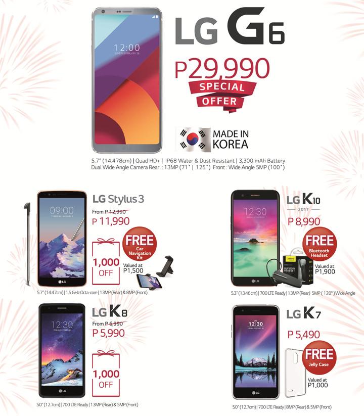 LG 70th Anniversary Sale, LG G6 sale