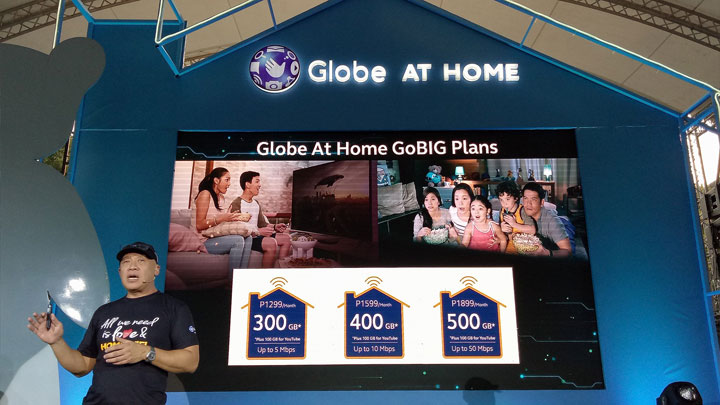 Globe StreamFest GoBig Plans