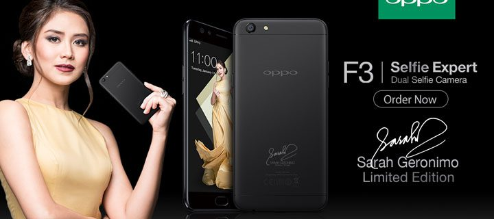 OPPO Announces the F3 Sarah Limited Edition Smartphone